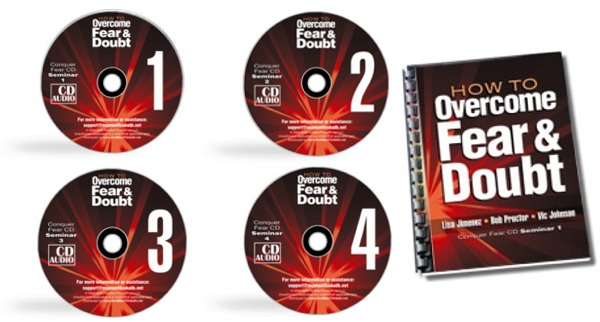 Overcome Fear Seminar CDs and Workbook